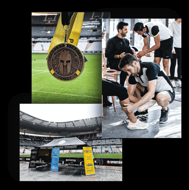 événements sportifs Nike auquel participe les kiné du sport et ostéo du sport des cabinets KOSS Paris 7 et KOSS Paris 8