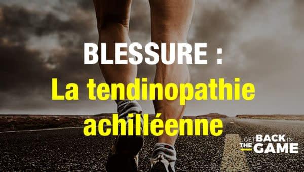 Blessure - tendinopathie - KOSS Paris - Cabinet de Kiné du sport et ostéo du sport