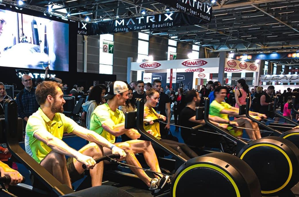Séance de sport événement auquel participe les kiné du sport et ostéo du sport des cabinets KOSS Paris 7 et KOSS Paris 8